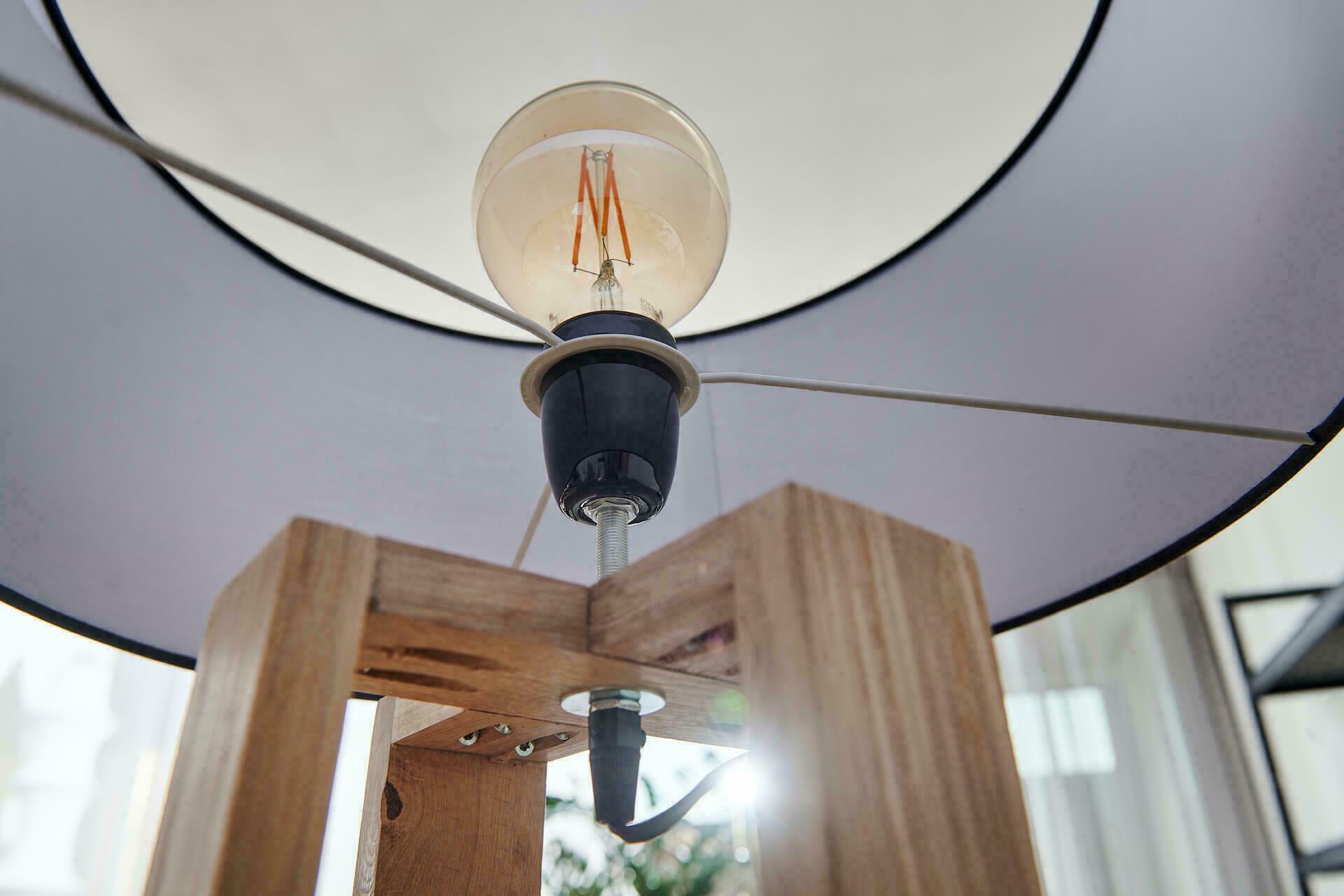 Beste Eiken vloerlamp maken | Stappenplan FV-51