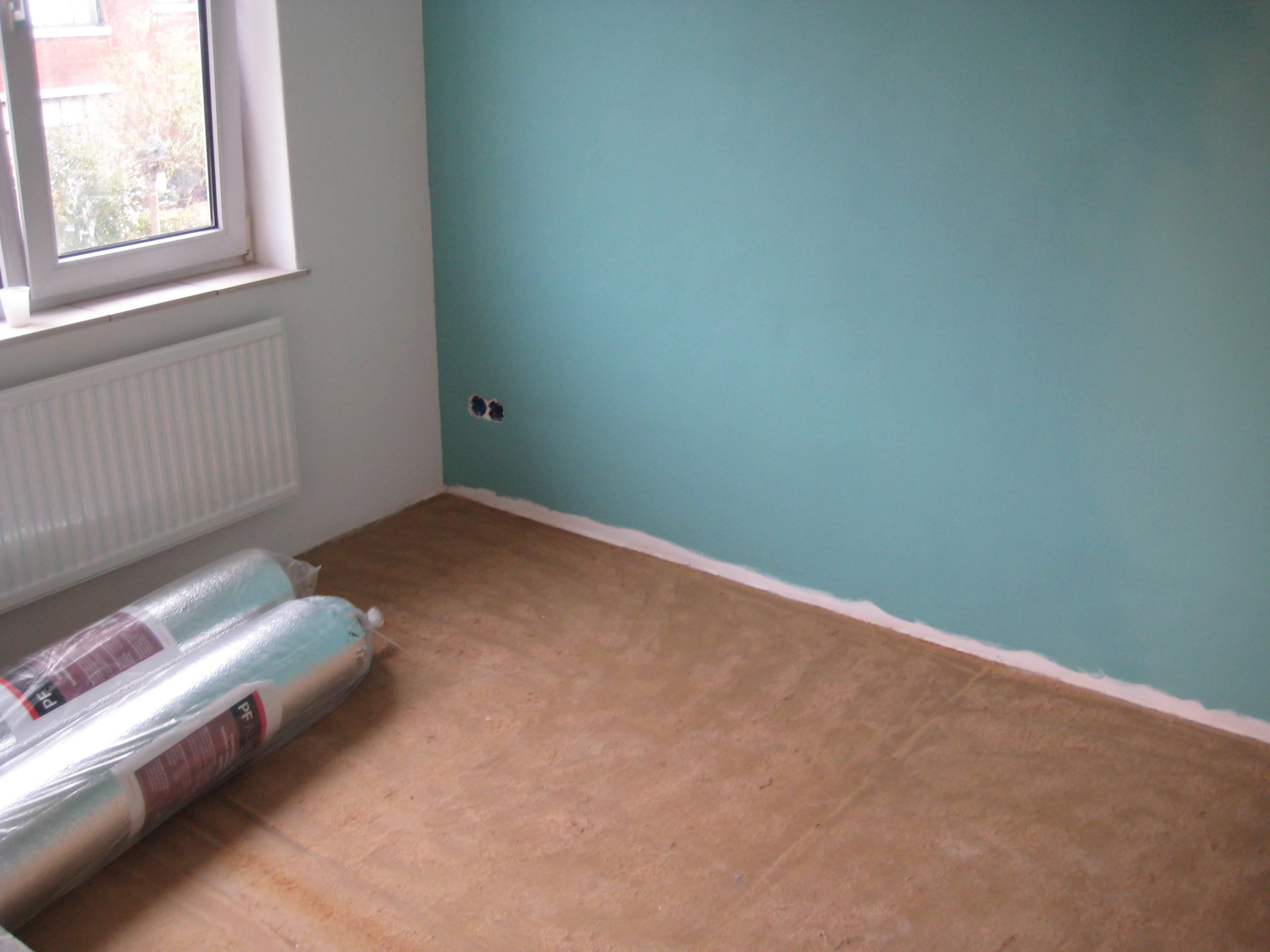 Laminaat Leggen Ondervloer : Ondervloer leggen voordemakers