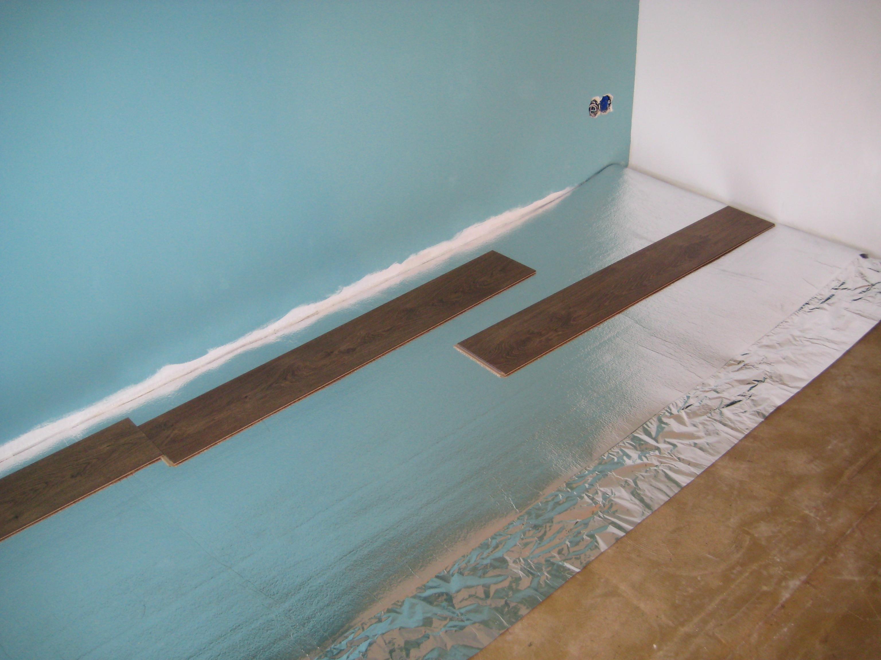 ondervloer leggen voordemakers