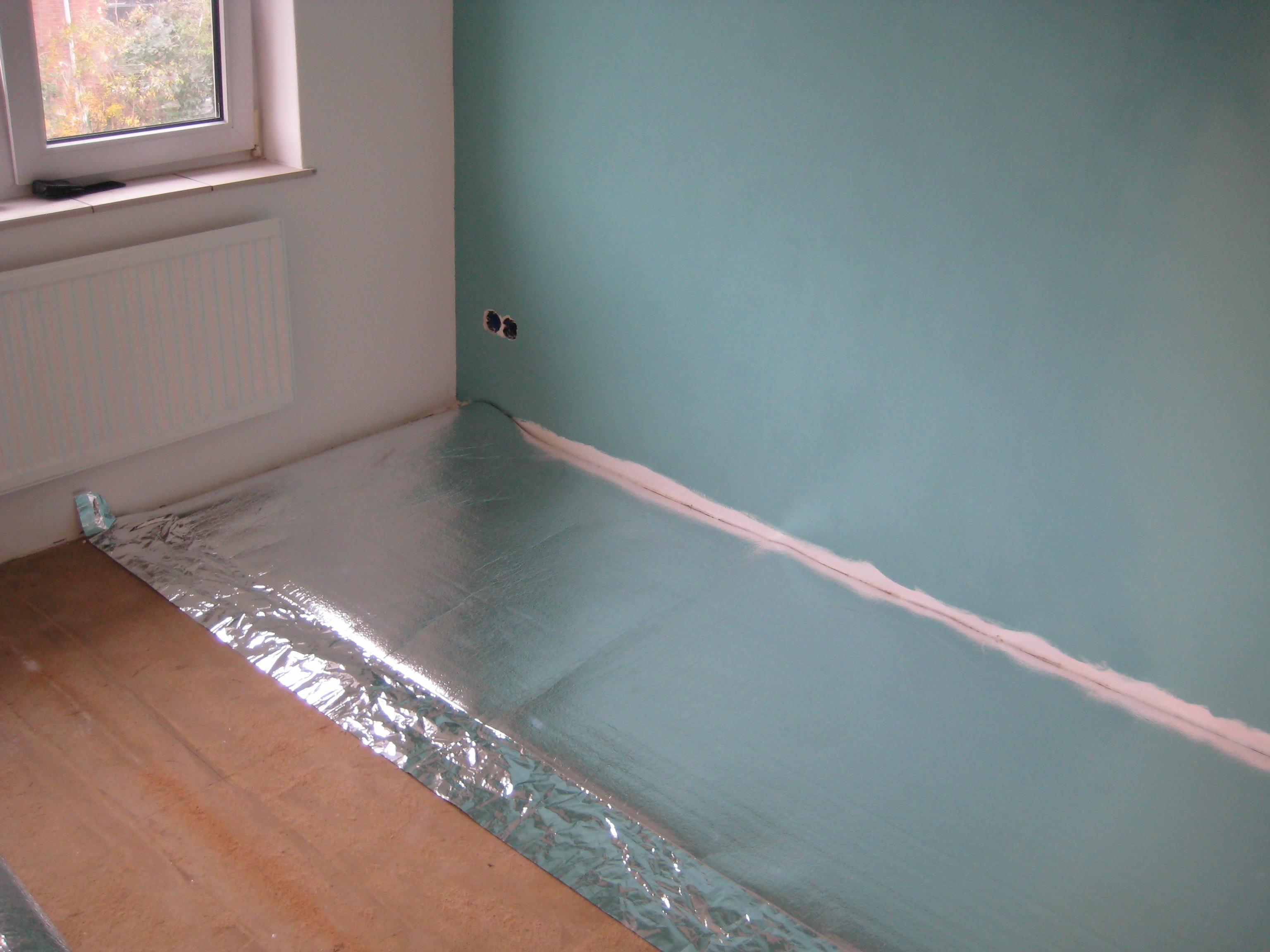 Werk uw laminaat af met de juiste ondervloer en voorkom nare geluiden