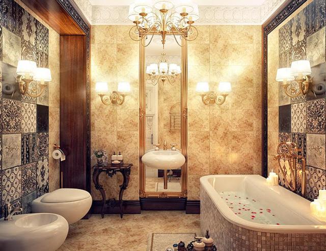Klassieke overal look - Klassieke badkamer meubels ...