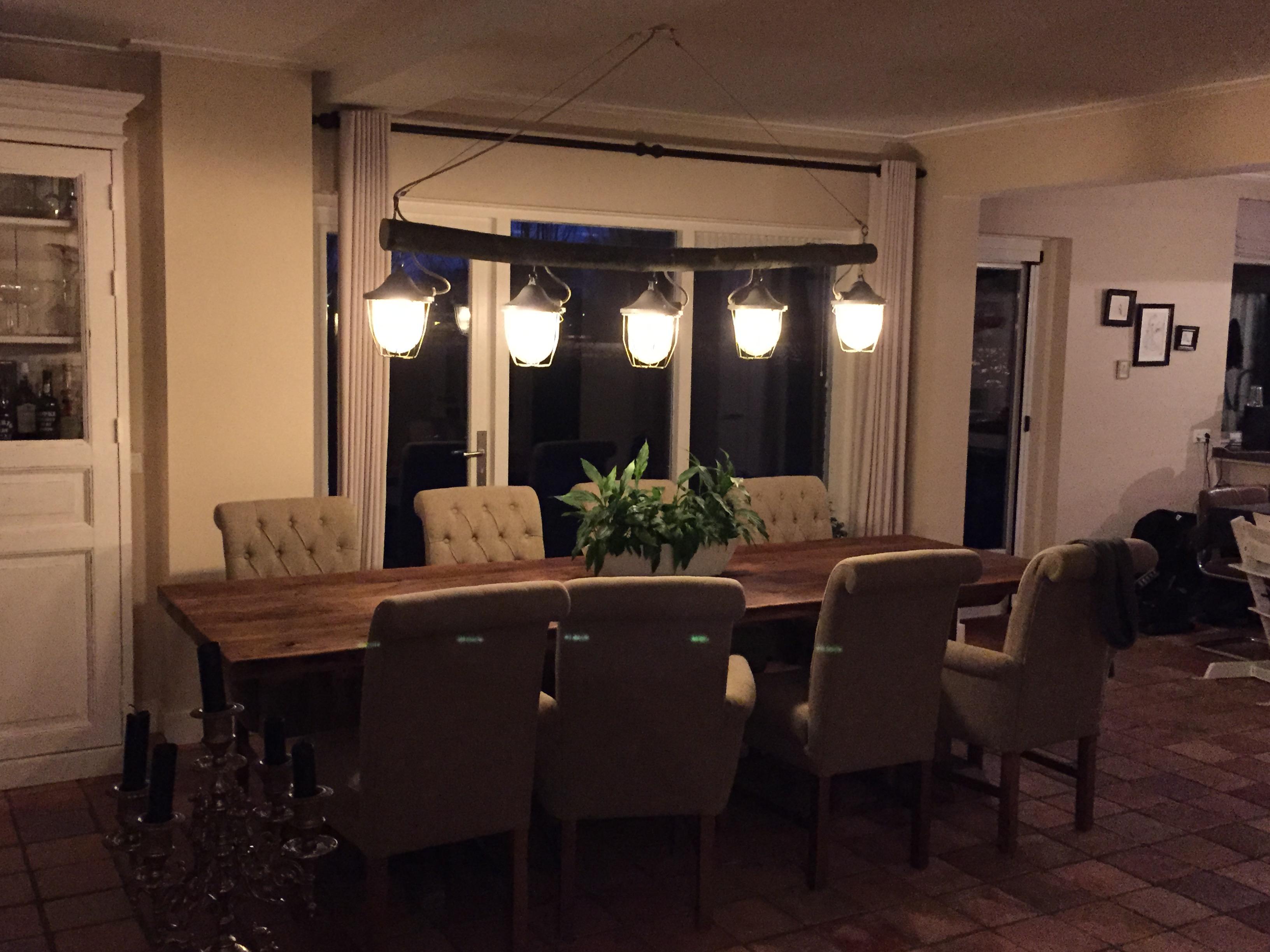 Bekend Eettafel lamp | voordemakers.nl GS42