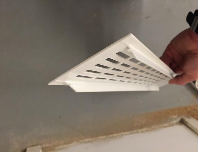Ventilatie Badkamer Muur : Ventilatierooster in deur maken voordemakers