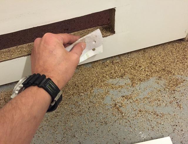 Ventilatie Badkamer Deur : Ventilatierooster in deur maken voordemakers