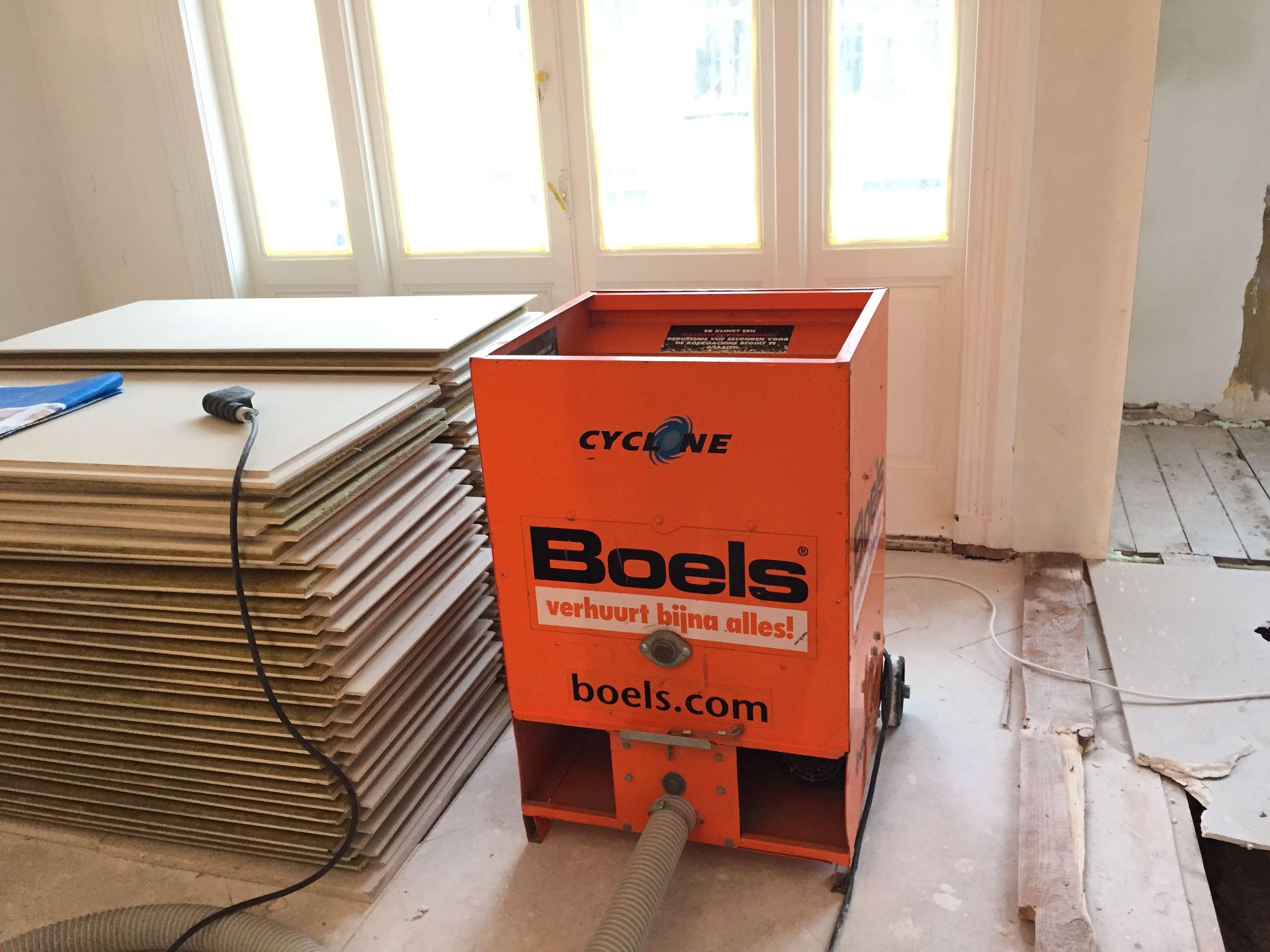 Vloer isoleren met easycell systeem voordemakers