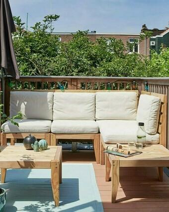 Hoe maak ik een modulaire loungebank?