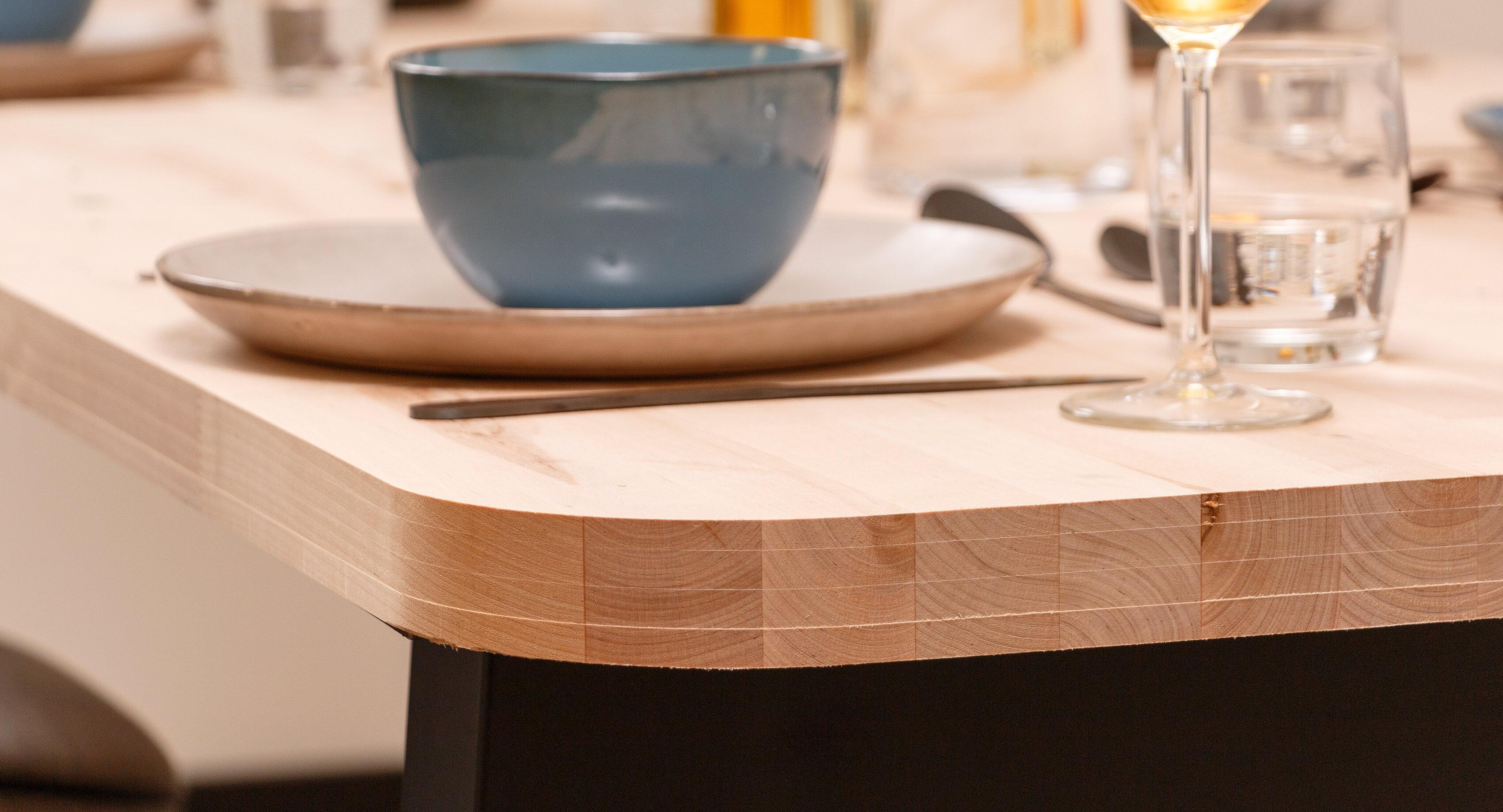 CanDo tafelblad berken 40 mm